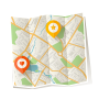 논골집 지도